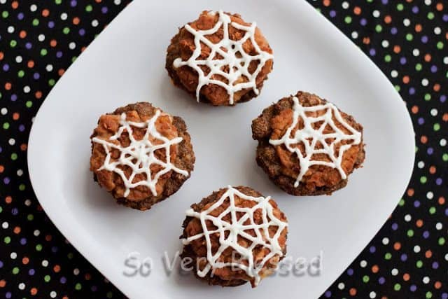 Spider Web Taco Cups Recipe : So Very Blessed