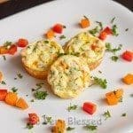 Crustless Mini Quiche Bites Recipe