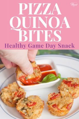 Quinoa Pizza Bites Recipe | Healthy Game Day Snacks