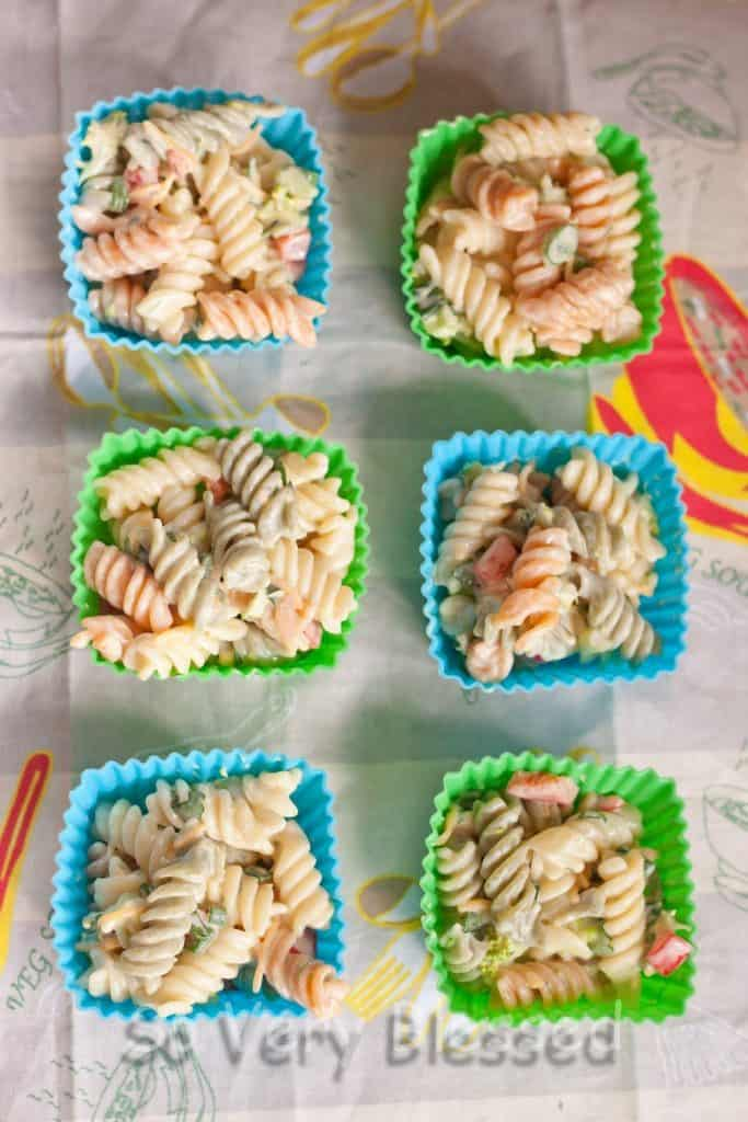 Honey Mustard Pasta Salad Recipe : So Very Blessed