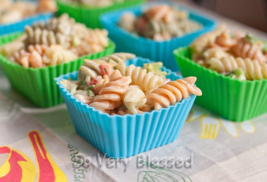 Honey Mustard Pasta Salad Recipe