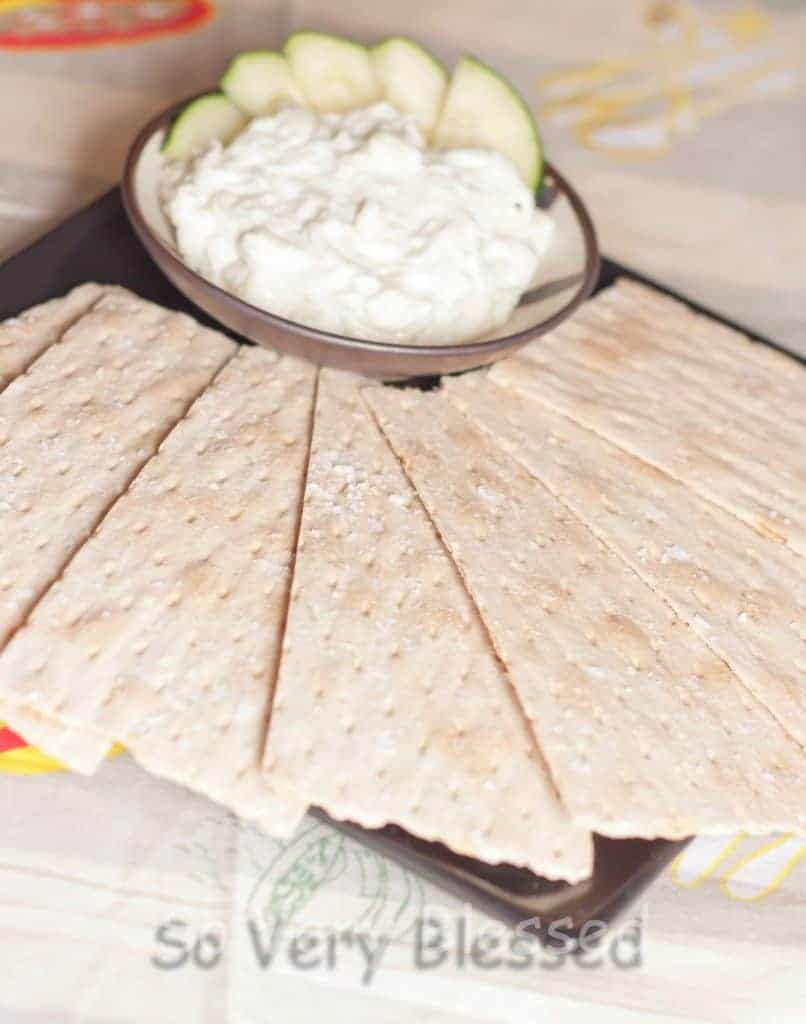 Creamy Cucumber Spread Recipe