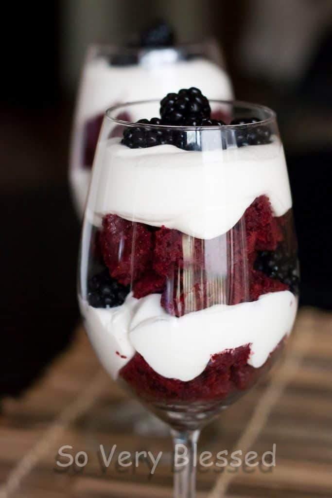 4th Of July Parfaits Recipe