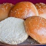Bread Machine Hamburger Buns Recipe : So Very Blessed