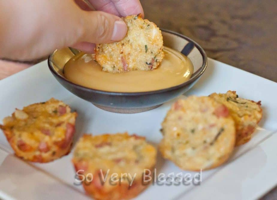 Ham & Cheese Quinoa Bites : So Very Blessed