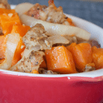 Roasted Rosemary Sweet Potatoes & Chicken Sausage Recipe
