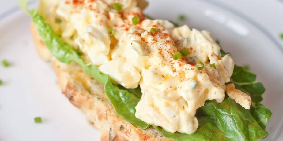Creamy Egg Salad Recipe | Hard Boiled Egg Recipes
