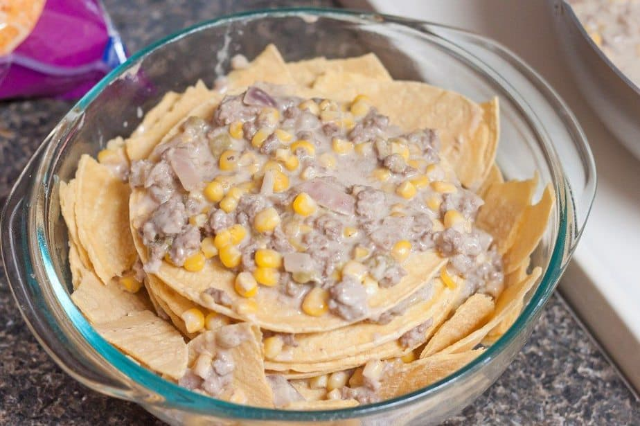 Green Chile Casserole Recipe : So Very Blessed