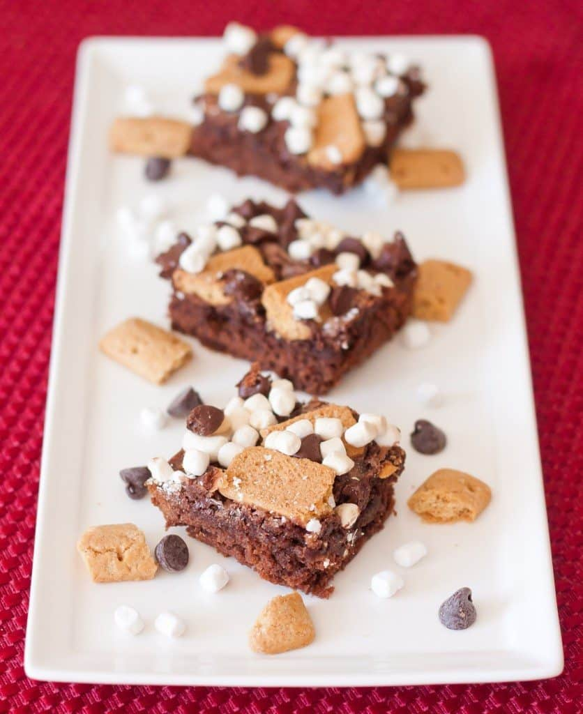 Toasted S'more Brownies Recipe : So Very Blessed