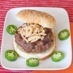 Jalapeno Popper Burger Recipe : So Very Blessed