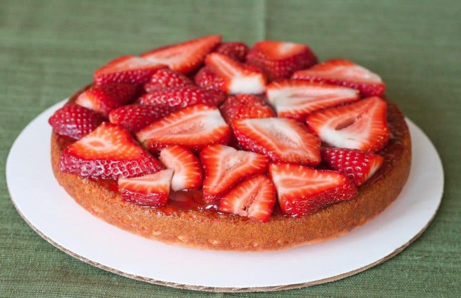 Strawberry Cake Recipe : So Very Blessed