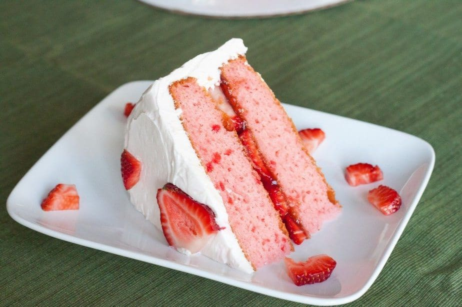 Strawberry Cake Recipe : So Very Blessed