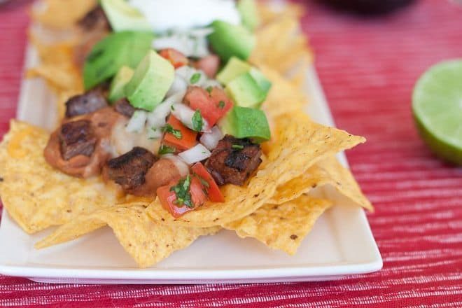Carne Asada Nachos Recipe : So Very Blessed