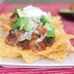 Carne Asade Nachos Recipe : So Very Blessed