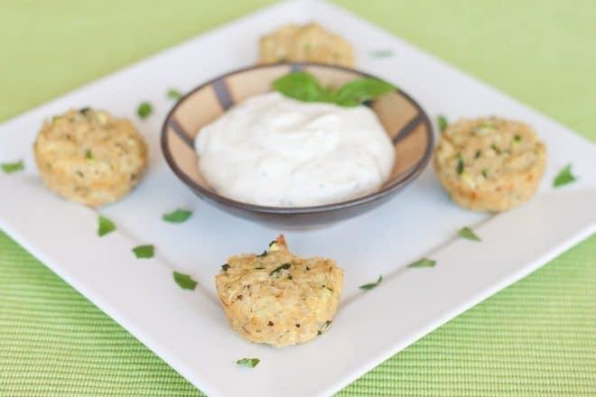 Zucchini Herb Quinoa Bites : So Very Blessed