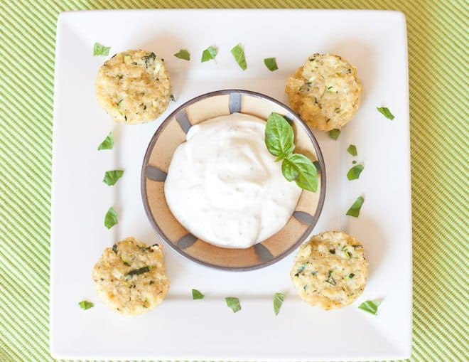 Zucchini Herb Quinoa Bites : So Very Blessed