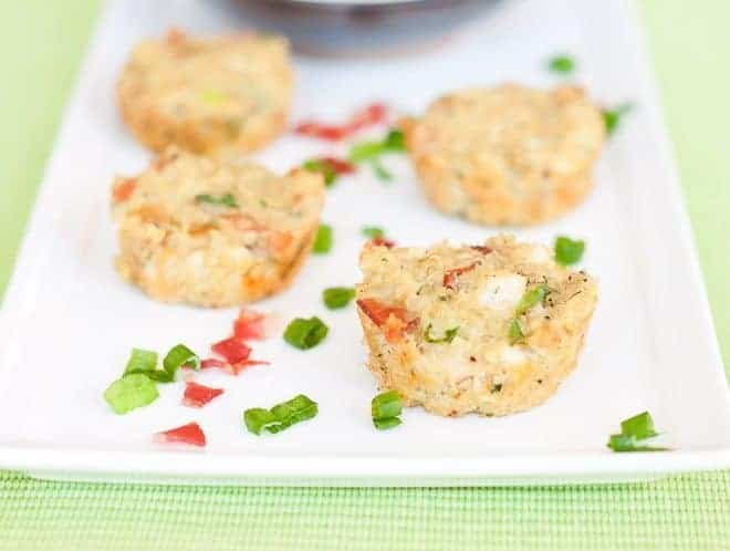 Chicken Bacon Ranch Quinoa Bites : So Very Blessed