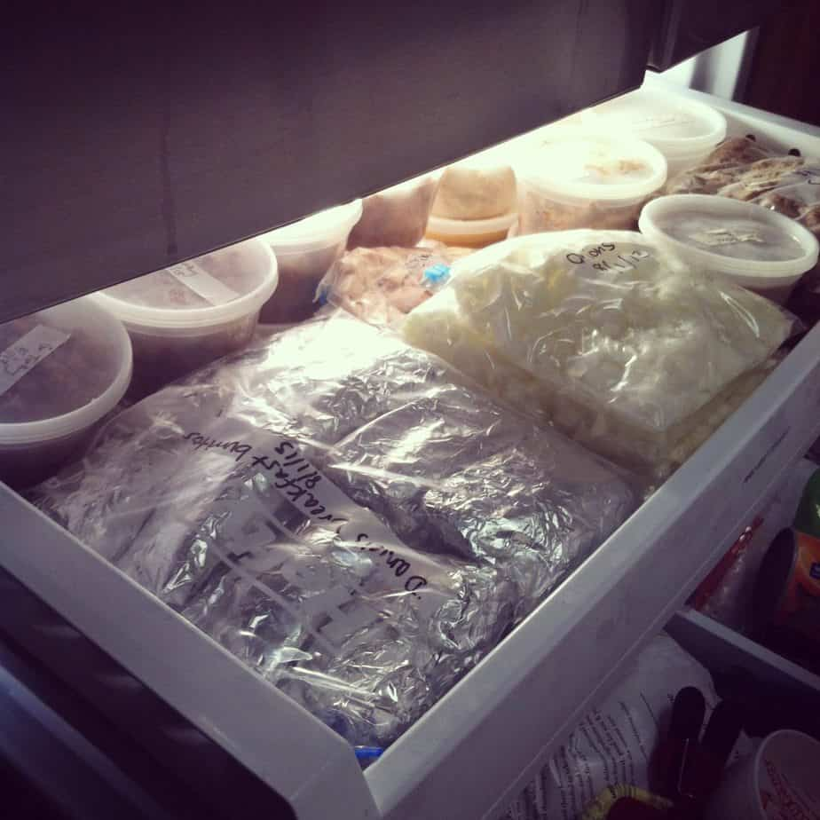 Freezer Cooking Session