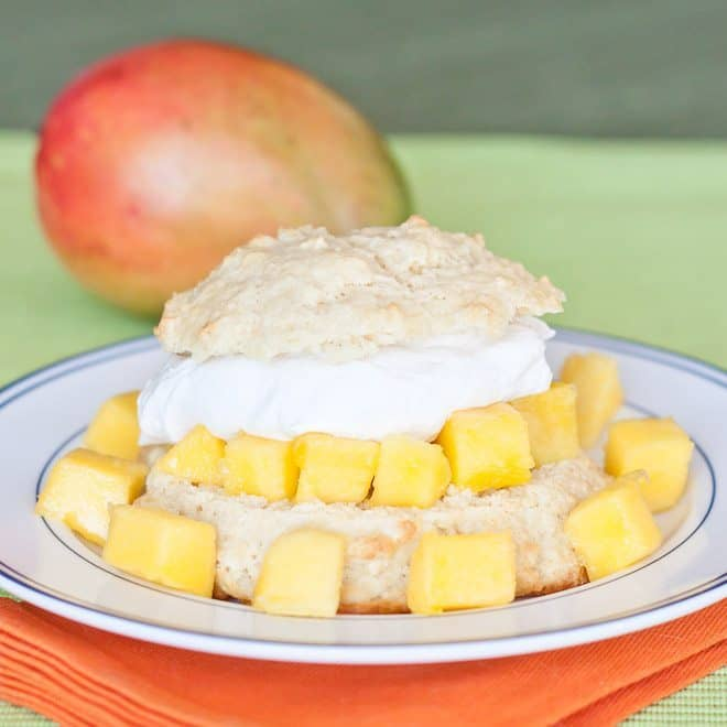 Mango Shortcake Recipe