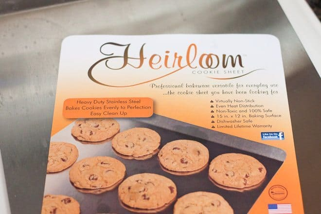 Heirloom Cookie Sheet Review : So Very Blessed