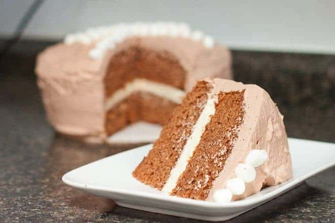 Hot Chocolate Cake Recipe