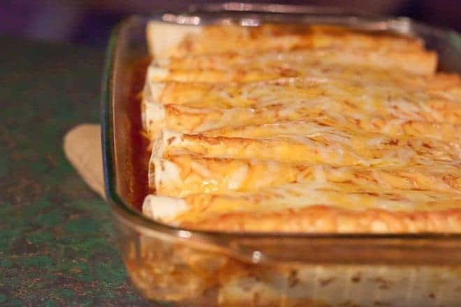 Easy Turkey & Black Bean Enchiladas : So Very Blessed