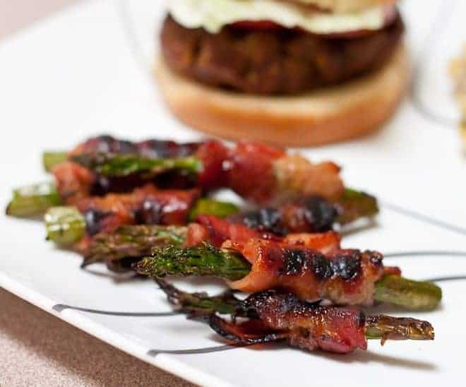 Grilled Bacon Wrapped Asparagus : So Very Blessed