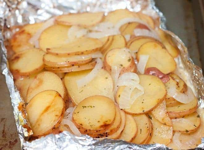 Grilled Ranch Potatoes Recipe