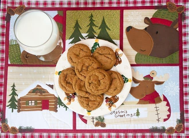 Chewy Molasses Cookies Recipe : So Very Blessed - These soft and chewy molasses cookies are the perfect addition to your Christmas cookie plates.