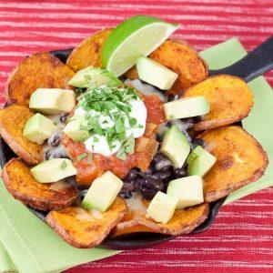 Sweet Potato Nachos Recipe : So Very Blessed
