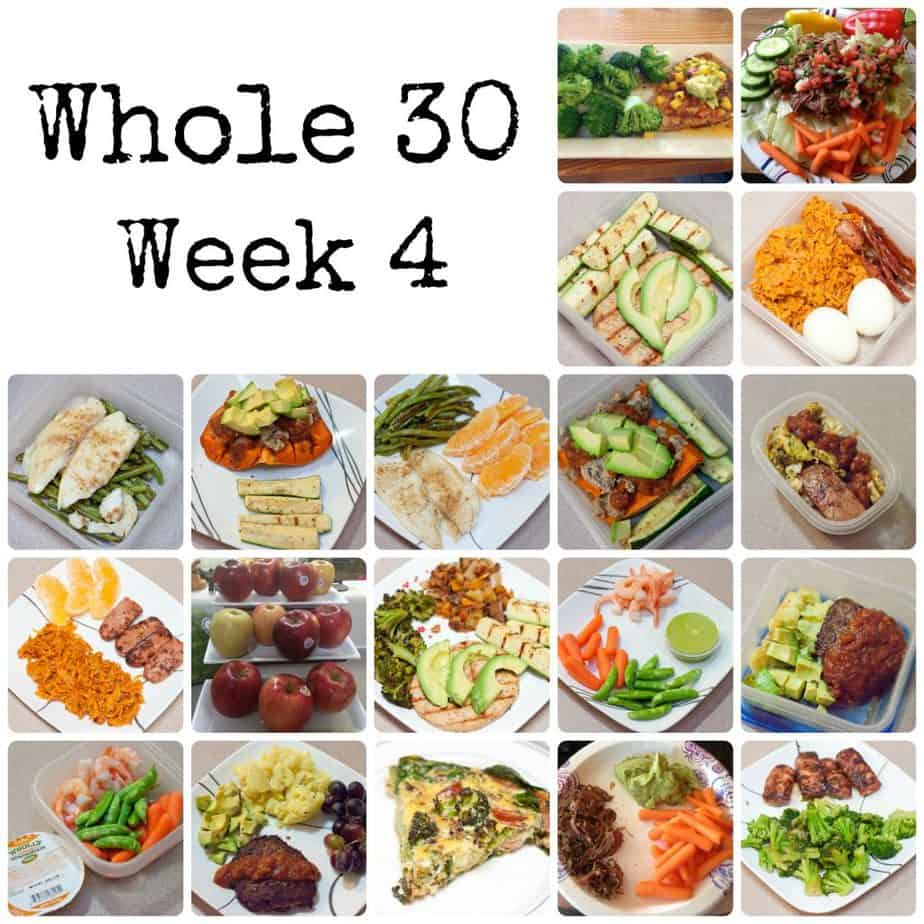 The Whole 30 – Week 4
