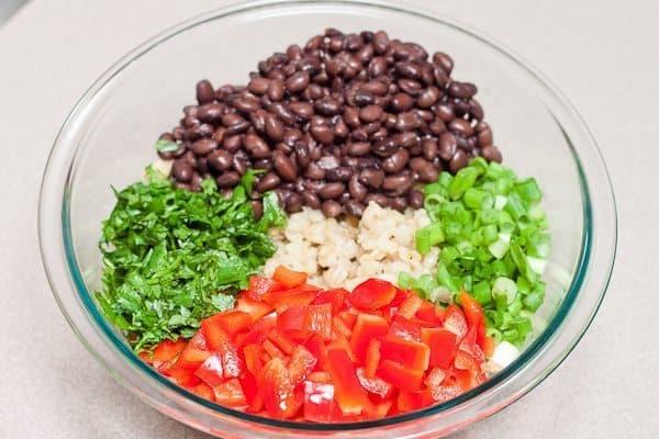 Southwestern Barley Salad : So Very Blessed