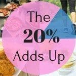 The 20% Adds Up