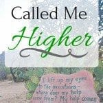 You Have Called Me Higher