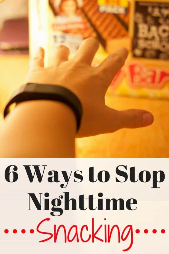 6 Ways To Stop Nighttime Snacking
