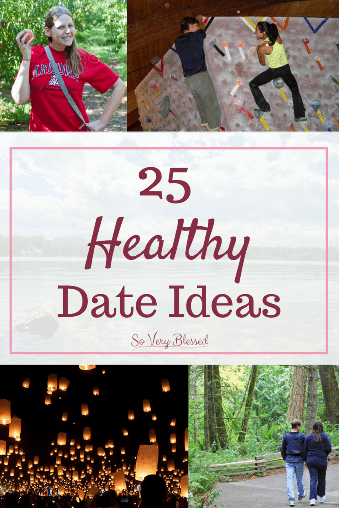 25 Healthy Date Ideas