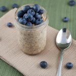 Peanut Butter & Blueberry Overnight Oats Recipe