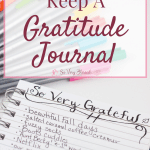 5 Reasons to Keep A Gratitude Journal