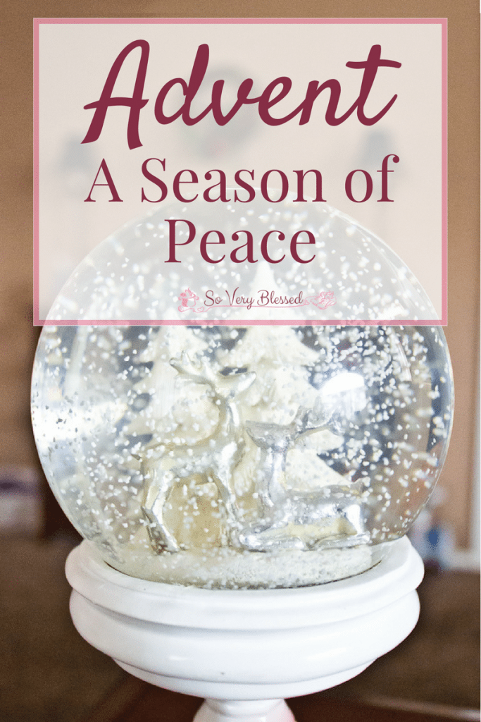 Advent – A Season Of Peace On Earth