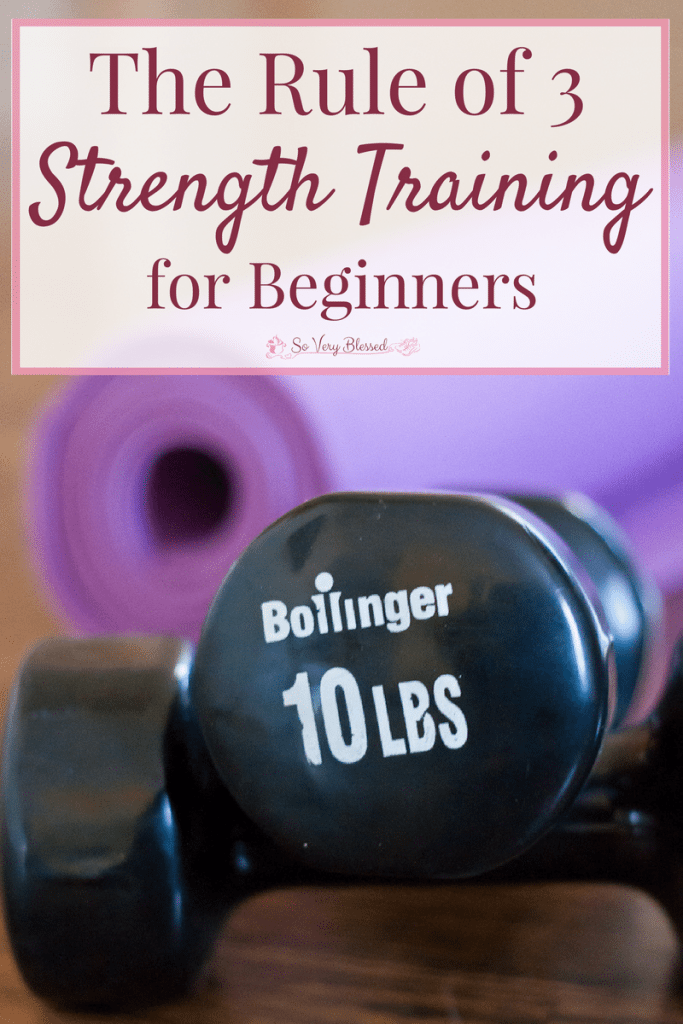 Take the intimidation out of strength training with the simple and straight-forward Rule of 3!