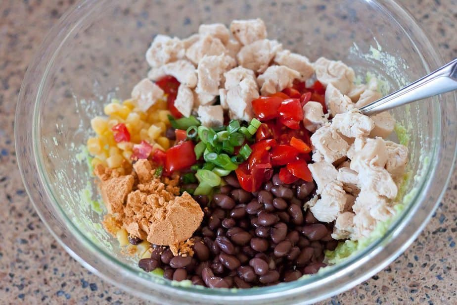 This Creamy Southwestern Chicken Salad Full Of Juicy Chicken, Black Beans, And Crunchy Corn Adds Healthy And Flavorful Pizzazz To Your Salads, Wraps, And Sandwiches.