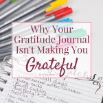 Why Your Gratitude Journal Isn't Making You Grateful
