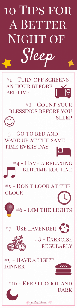 Use these 10 simple tips to fall asleep faster and get a better and more restful night of sleep.