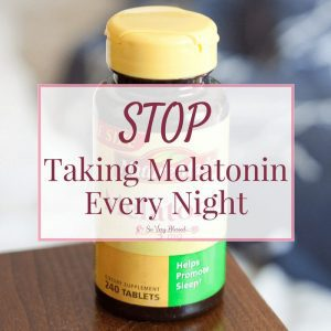 If you are taking melatonin every night, you need to read this. A natural, non-habit forming pill that helps you fall asleep sounds great in theory, but at what cost?
