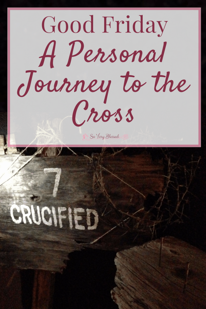 This Good Friday, allow yourself to be raw and get real with Jesus as you take a personal journey alongside Him to the cross.