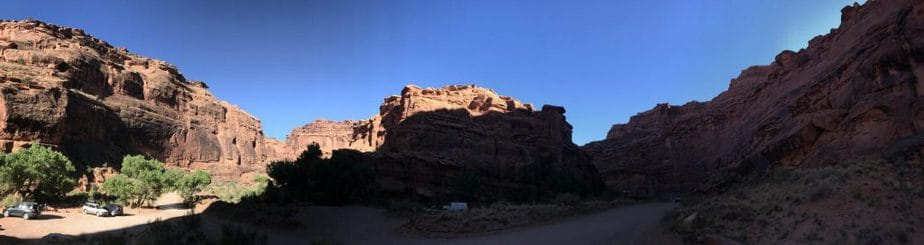 That Time I Went Primitive Camping in Moab With A Broken Collar Bone : So Very Blessed