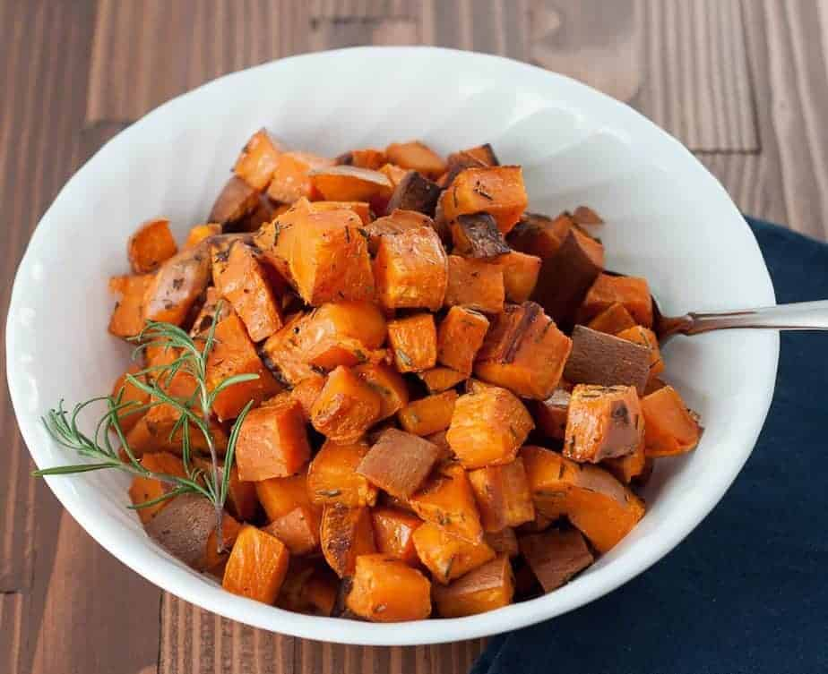 Roasted Rosemary Sweet Potatoes 2510