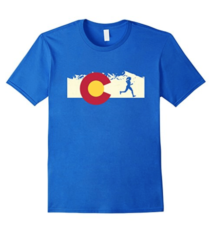 Colorado Pride Women's Runner T-Shirt
