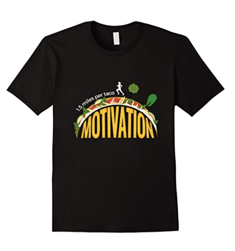 Will Run For Tacos Running Motivation T-Shirt