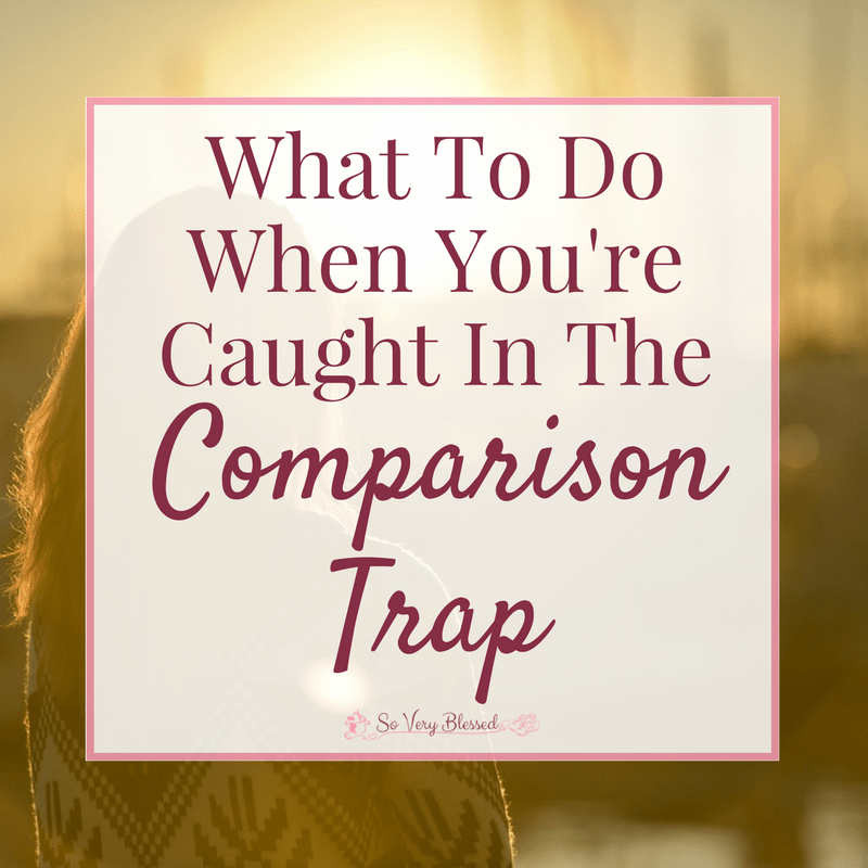 What To Do When You're Caught In The Comparison Trap